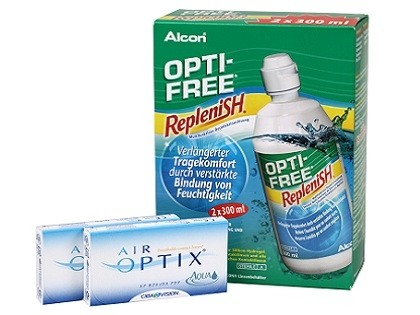 AIR OPTIX Aqua Optifree Replenish Sparset