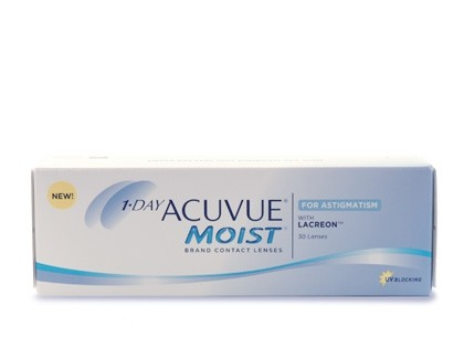 1-DAY ACUVUE Moist for Astigmatism Tageslinsen