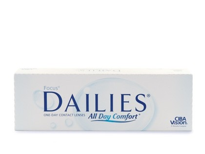 Focus DAILIES All Day Comfort Tageslinsen